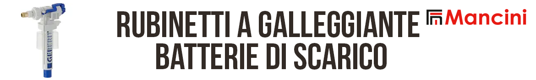 Flli Mancini | Rubinetti a galleggiante e batterie di scarico Geberit